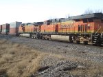 BNSF 7419 and 5136