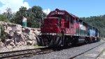 Ferromex Mixed freight train passing by Divisadero