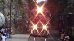 Ferromex Chepe Train arriving to San Rafael Station