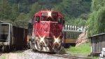 Ferromex Chepe Train Arriving to Bahuichivo Station