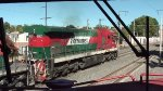 Ferromex Super 7 leading a train