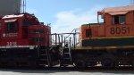 Ferromex Super 7 and ex-BNSF SD40