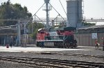 FXE ES44AC loco at sand tower