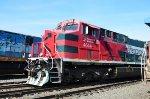 FXE ES44AC loco at Guadalajara yard