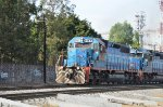 FXE SD40-2 locos ex -FNM leading train in Las Juntas