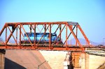 FXE SD40 crossing Hermosillo's Dam bridge
