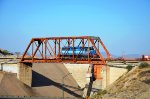 FXE SD40-2 ex-FNM passing by Hermosillo's Dam