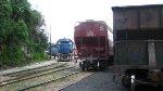 Ferromex locos at San Rafael yard