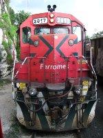 Ferromex Chepe Passenger train at San Rafael