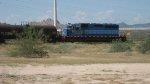 Ferromex SD40 with  blue scheme ex FNM
