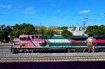 Ferromex Locomotives at Terminal Valle de Mexico