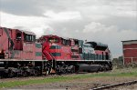 Ferromex Locomotives at Ferrovalle