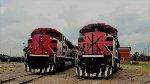 Ferromex SD70ACe Locomotives at Ferrovalle