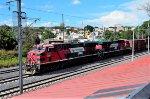 Ferromex ES44AC Locomotives heading northbound