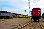 FXE SD70ACe and KCSM Locomotives at Ferrovalle yard