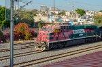 Ferromex GEVO leading a northbound train