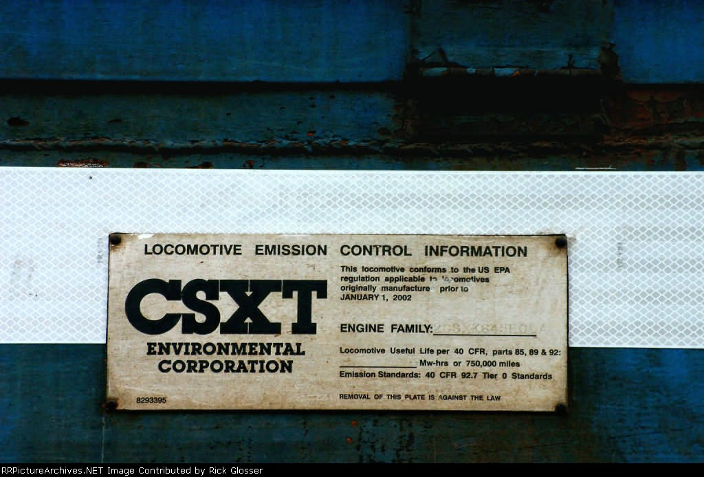 NS 5264 With stamped CSXT LECI