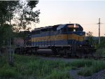 Cp 550 heading to Scranton Pa at dusk