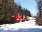 CP 553 Heading toward the Binghamton yard