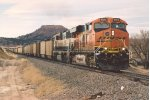Eastbound coal loads fight uphill