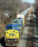 CSX 7818   CSX Train Q249