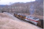 OHCR 3247 waits for an order to head north
