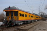 "Eastbound UP Special Business Train - UPP 102 – Business Car ""St. Louis"""