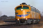 Southbound UP Special Business Train - The 2011 Super Bowl Special