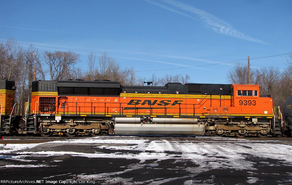 BNSF 9393 NS 39G