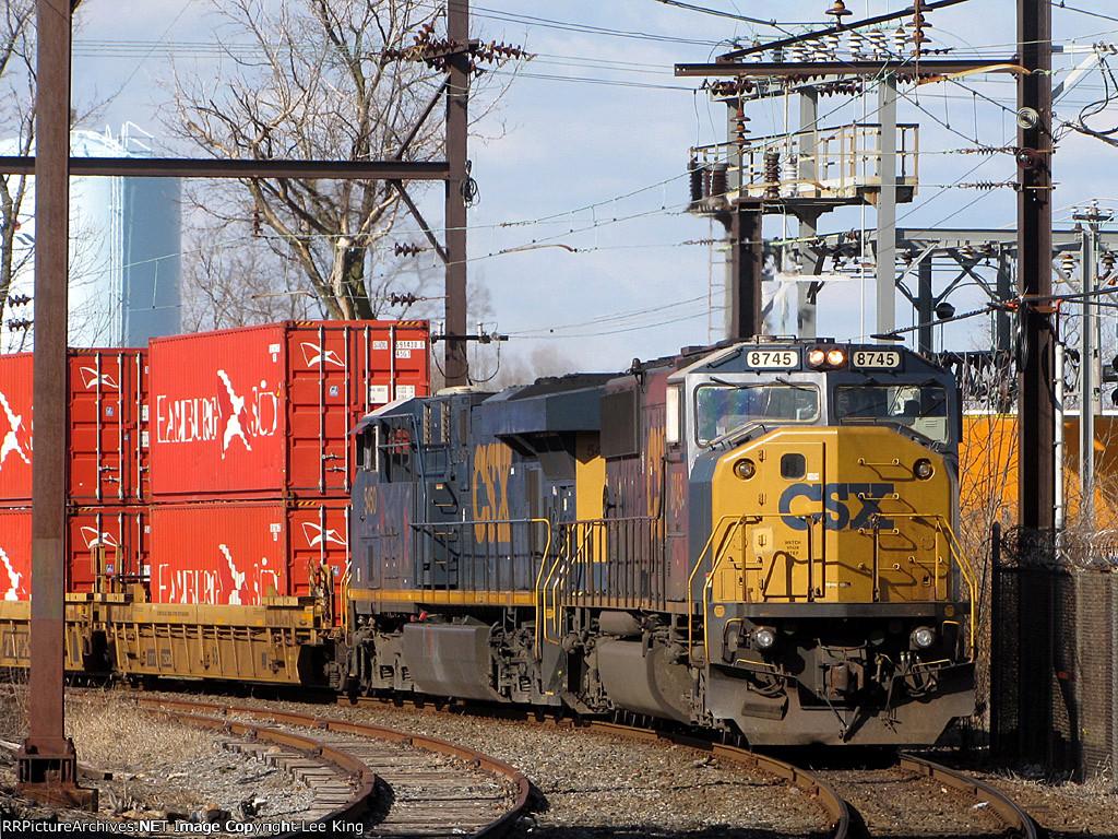 CSX 8745 Q190-19