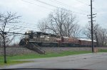 NS Track Test unit with Gp38-2 loco