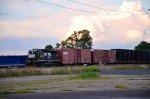 NS GP38-3 at Oakwood yard