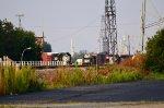 NS GP38 locos in Oakwood yard