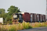 NS GP38-2  with boxcars