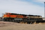 BNSF 5909 & 9706 Moving Onto The Fuel Track
