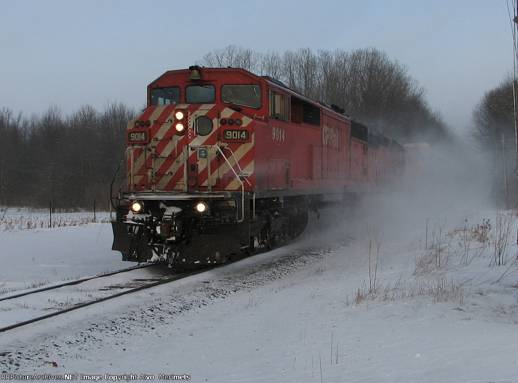 CP 9014 West at Mile 106 Galt Sub.