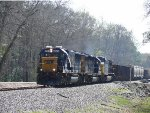 CSX local A724
