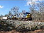 CSX Q647 freight