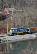 ORHS 471 on the Wheeling Santa Train