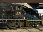 NS EMD SD70M 2596 & CSXT EMD SD50-2 8561