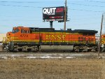 BNSF GE C44-9W 4773