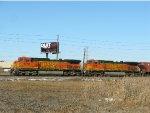 BNSF GE C44-9W's 4773 & 5338
