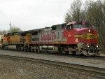 BNSF GE C44-9W's 610 & 5385