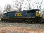 CSXT GE C40-8 7512