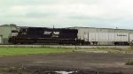 NS SD70M loco with roadrailers