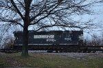 NS GP38-2 high nose at Oakwood yard
