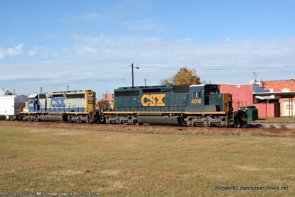 CSX 4016