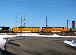 BNSF 9951 and 9393
