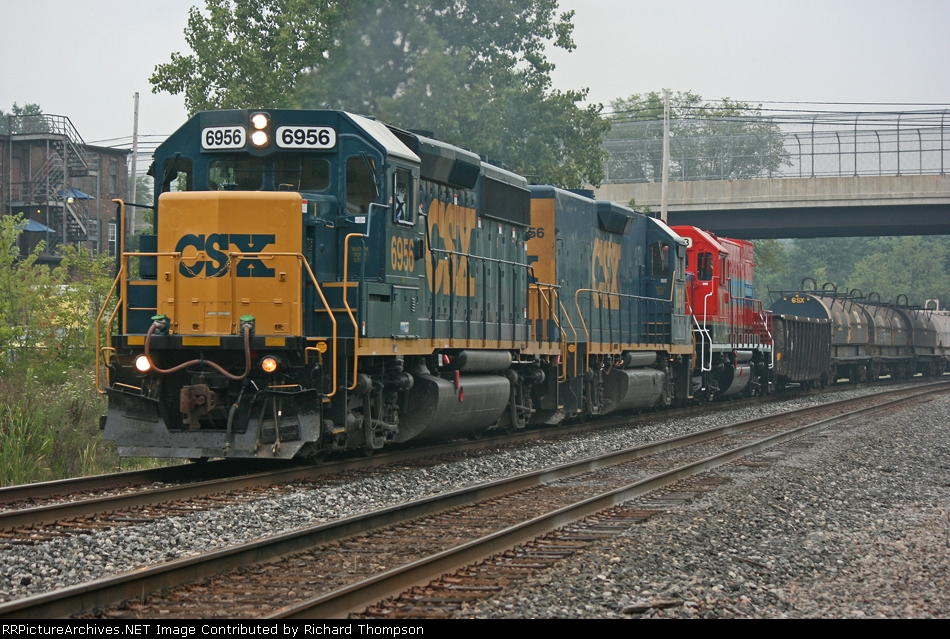 CSX 6956 on CSX D763-03