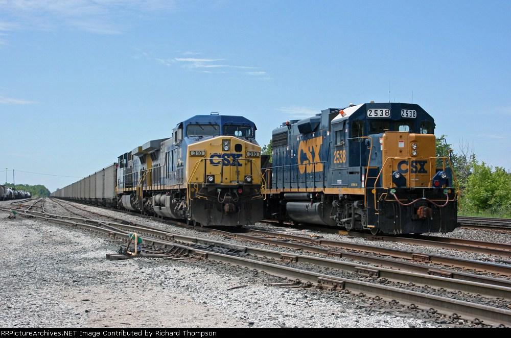 CSX 310 & 2538
